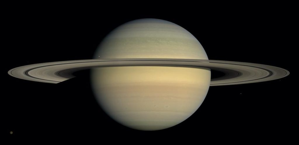 Saturn's Facts About Space