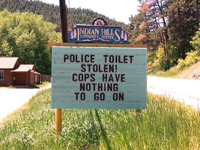 The toilet thieves strike again